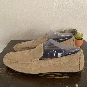 Marco Ferretti Shoes - Marco Ferretti   Tan suede loafers 11 M